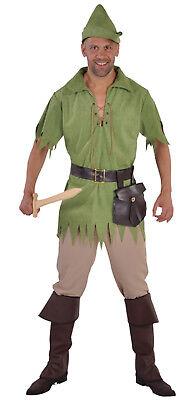 Robin Hood Peter Pan Jäger Kostüm Gothic Herren Damen Kinder Junge - Alte Robin Kostüm