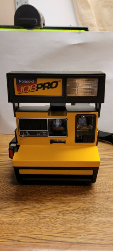 Polaroid 600 Job Pro Instant Film Camera. The Construction Camera Works