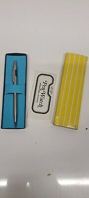Vinbox. 1980s New Digital Pen-Watch with LED Display W/ Originalbix..