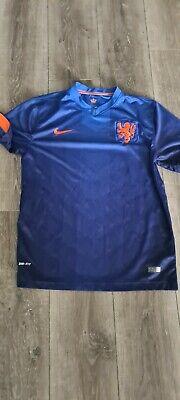 Holland Away shirt 2014 Large Mens Football Shirt  image