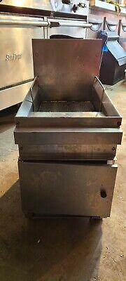 Gf16 Cecilware Lp Gas Deep Fryer Counter Top