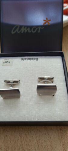 Manschettenknöpfe, silber, 835er