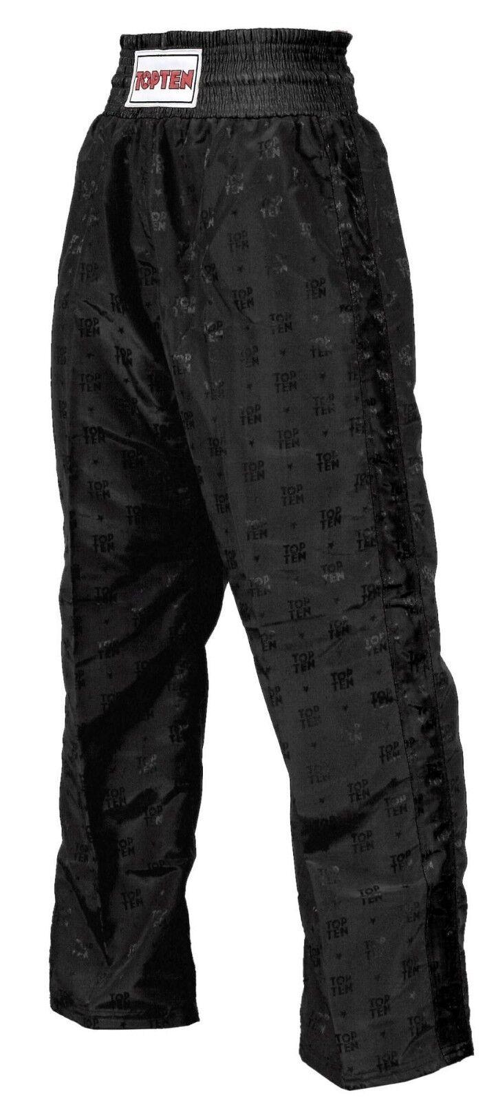 Kickboxhose, Classic von TOP TEN für KIDS, cooles Outfit.Gr. 120 - 150cm