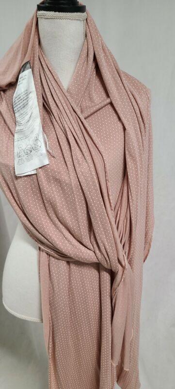 Solly Baby Wrap  - Blush Swiss Dot Pink