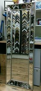 LARGE BEADED FRENCH PROVINCIAL MIRROR WALL MIRROR Alexandria Inner Sydney Preview