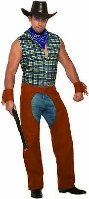 Lone Star Stud Adult Men's Costume Sexy Rodeo Cowboy Rancher Male - Lone Cowboy Kostüm