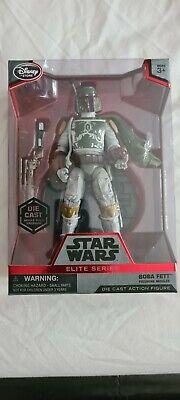 Star Wars ELITE SERIES BOBA FETT die cast figure,  sealed in box