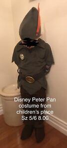 Sz 5/6 Peter Pan costume
