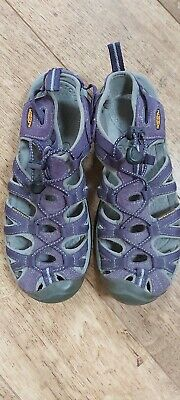 Keen Whisper Womens Ladies Adjustable Walking Hiking Sandals Purple Size UK 7