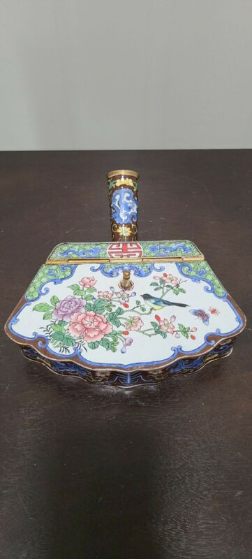Chinese Cloisonne/enameled Box