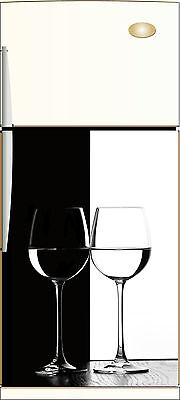 Sticker Frigo Électroménager Black&white 60x90cm Réf052