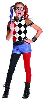 Harley Quinn Girls Costume DC Comics Superhero Villain Costume Size Large 12-14