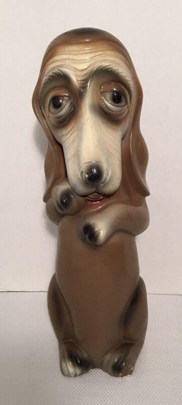 Vintage 1963 Silvestri Bros Company Dog Coin Bank