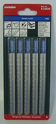 Metabo 5 Stichsägeblätter,Metall,classic,106/1,2 mm (623629000)