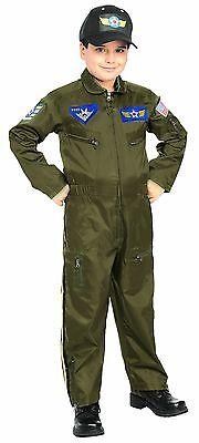 pfflieger USA Jungen Kinder Halloween Kostüm 882701 (Air Force Kostüm)