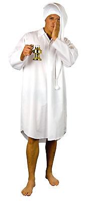 weißes Nachthemd Größe XL Schlafanzug Karneval - Weißen Nachthemd Kostüm