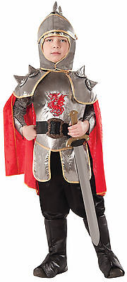 Silver Knight - Child Costume - Medieval / Game of - Metal Knight Kostüm
