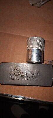 Parker Hydraulic Flow Control Valve Steel 3000 Psi 25.0 Gpm New No Box
