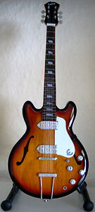 John Lennon Epiphone Casino Sunburst mini guitar