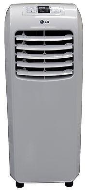 LG LP0814WNR - 8,000 BTU 110V Portable A/C: Remote & Window Vent Kit Included