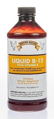 Rooster Booster Liquid B-12, 16 -