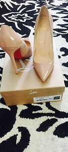Nude Patent Leather Pigalle Christian Louboutin