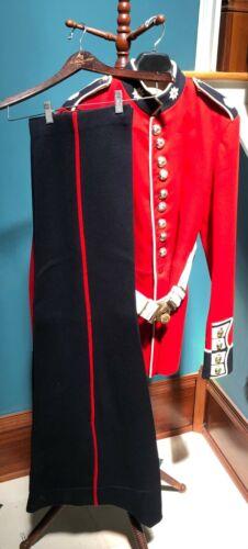 1960s Vintage Coldstream Guards Parade Dress Uniform Set Lg: Tunic, Belt & Pants