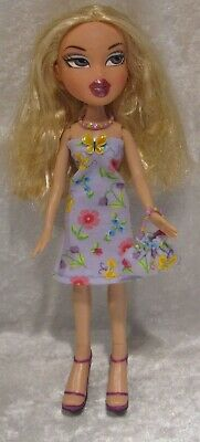 "Made to fit 9½"" BRATZ #11 Dress, Purse & Necklace Set, Handmade Doll Clothes"