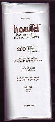 Hawid  195/  200 gramm unsortierte Streifen schwarz