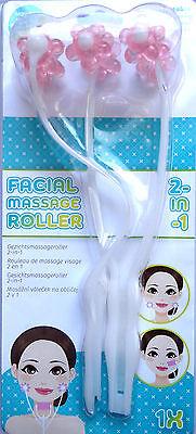 Massageroller Massagegerät Lifting Gesichtpflege Anti-AgingRoller Beauty Gesicht
