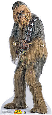 CHEWBACCA(STAR WARS) LIFE SIZE STAND UP FIGURE MOVIES ICONIC FIGURE BIG WOOKIEE! ()