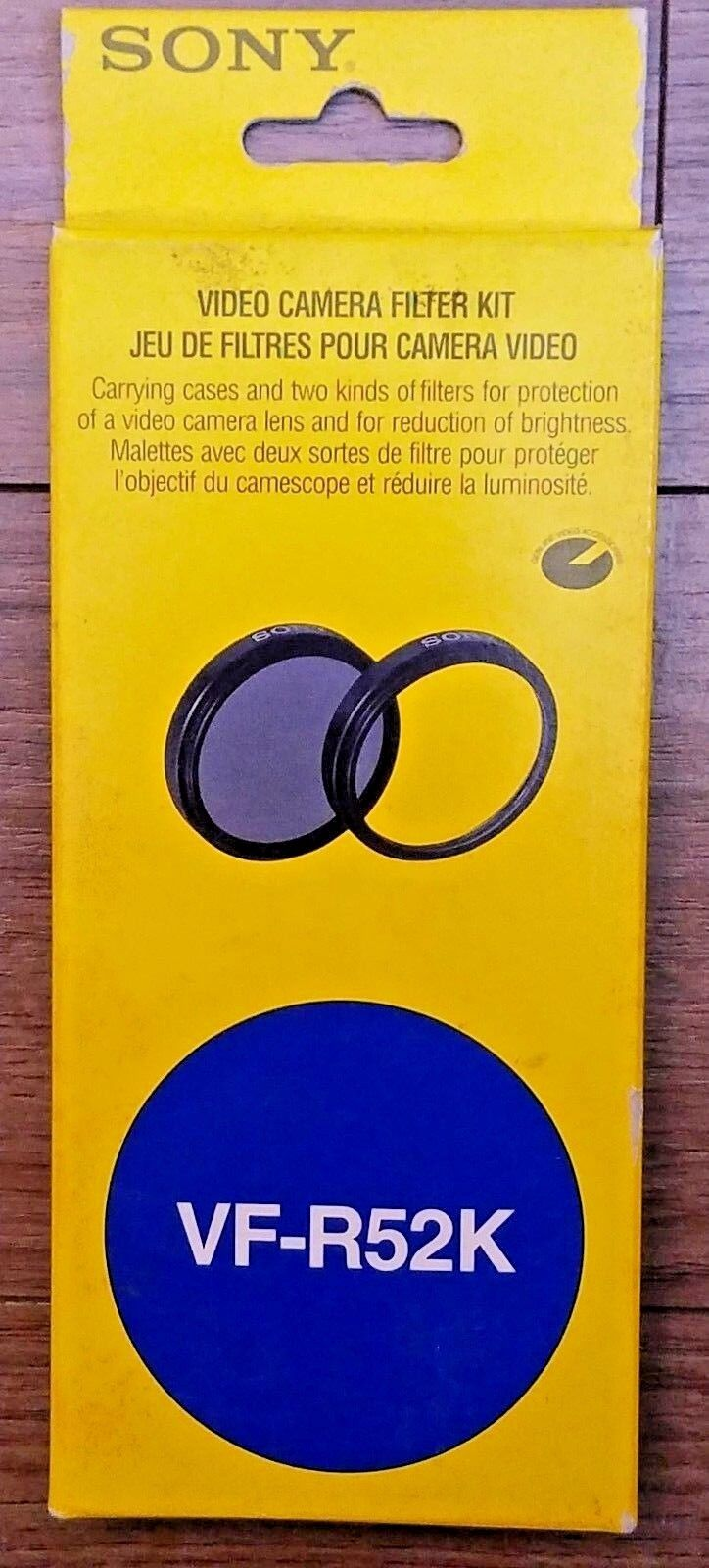 Sony filtro set ND 8 protector vf r52k 52mm