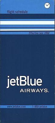 Airline Timetable   Jetblue Airways   07 00   Jet Blue