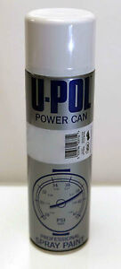 Power Can Clear Coat Lacquer Upol Aerosol Spray Can 500ml