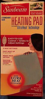 Sunbeam 731 500 Heating Pad With Ultraheat Technology