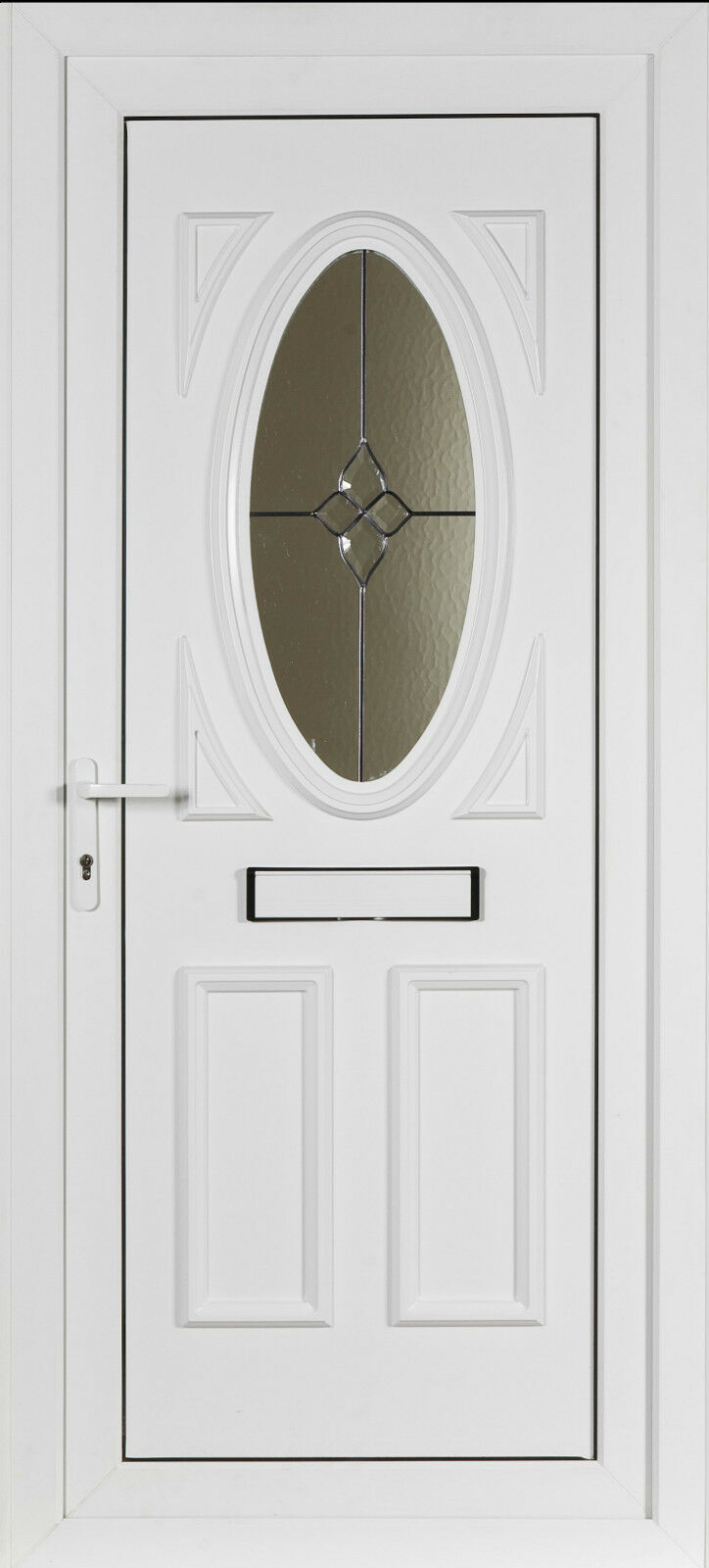 Upvc front door ebay for Upvc glass front doors