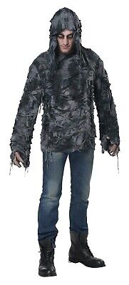 Zombie Hoodie Horror Men Adult Costume - Zombie Costume For Men