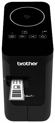 Brother P-touch Ptp750w Wireless Label Maker Nfc Connectivity Usb Interfa...
