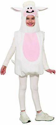 Cute Lamb Child Costume Hooded Tunic Nativity Farm Animal Boy Girl Sheep Easter