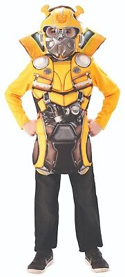 Rubies 334359 - Bumblebee Flip & Reveal Transformers 6 Kinder Kostüm ca 5-8 J. (Transformers Bumblebee Kostüm Kind)
