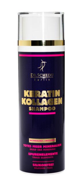 2 x Dr.Schedu Berlin Keratin Kollagen Totes Meer Shampoo 200ml 100% Silikonfrei