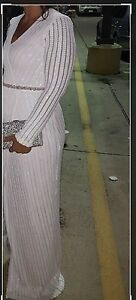 Beautiful Bridal wrap sequinced dress size US8 Edmonton Edmonton Area image 3