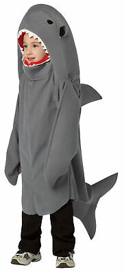Shark Child Deluxe Costume Unisex  Grey Baby Shark Fin Halloween Fish - Baby Fish Costume Halloween