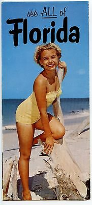 VINTAGE 1950's-1960's FLORIDA TRAVEL BROCHURE