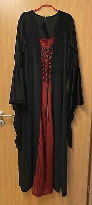 Gothic Kostüm  Hexenkostüm Mittelalter Leonardo Carbone Gr. XL