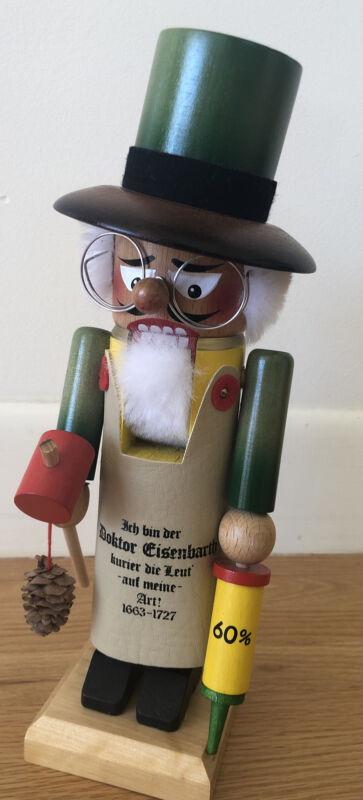 "Vintage Steinbach Nutcracker ""Dr. Eisenbarth"" 12"" West Germany Doctor Doktor"
