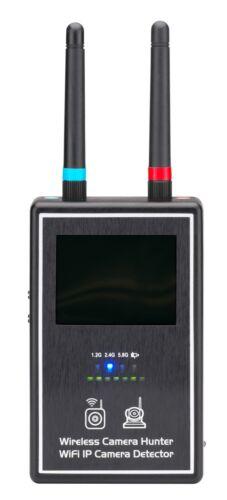 NEW WIRELESS VIDEO SCANNER/BUG/SPY CAMERA HUNTER WIFI IP RF DETECTOR