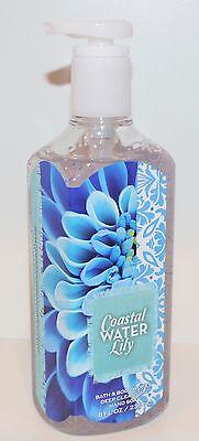 New Bath   Body Works Coastal Water Lily Deep Cleansing Hand Soap Wash 8 Oz Pear