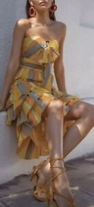 RRP $290 BRAND NEW TALULAH IMPERIAL MIDI DRESS size small / 8