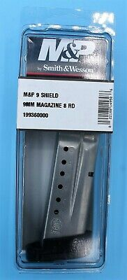 Smith & Wesson M&P Shield 9mm Magazine 8-RD Round S&W Factory Extended Clip Mag Smith And Wesson Clips
